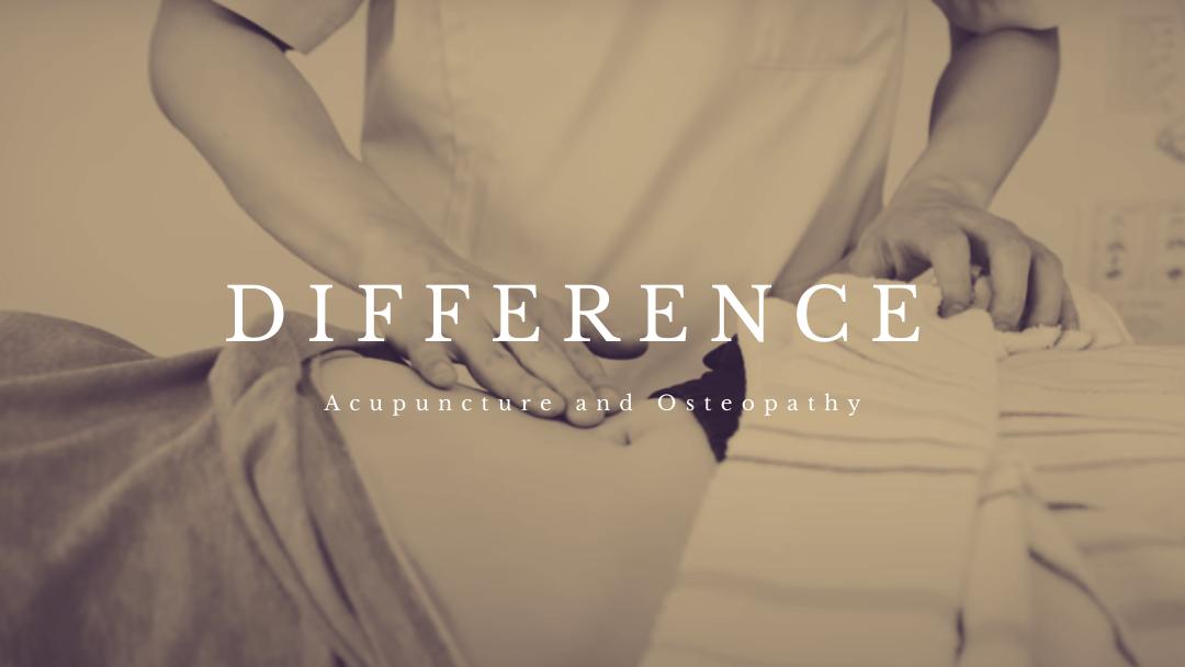 鍼灸と整体の違い